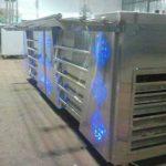 کانتر صنعتی سرد، گرم و تاپینگ قاشق چنگال