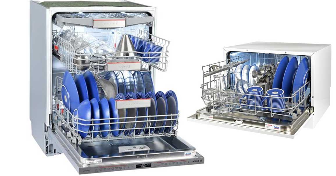 تفاوت ماشین ظرفشویی رو میزی و مبله