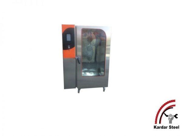 دستگاه فر کامبی با قابلیت پخت 3 گانه تولید شرکت کاردراستیل